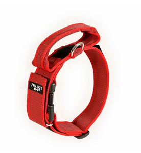 Julius K9 Collar with Handle-Red