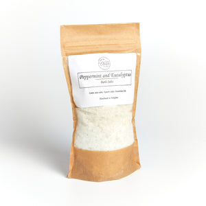 Peppermint & Eucalyptus Bath Salts
