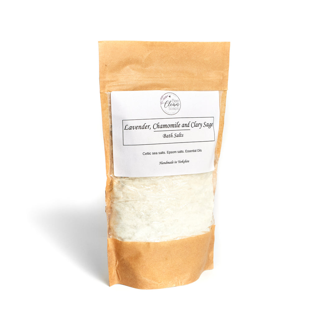 Lavender, Chamomile and Clary Sage Bath Soak