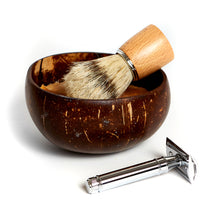 Load image into Gallery viewer, Shaving Gifts - shaving soap razor and brush (razor not included)