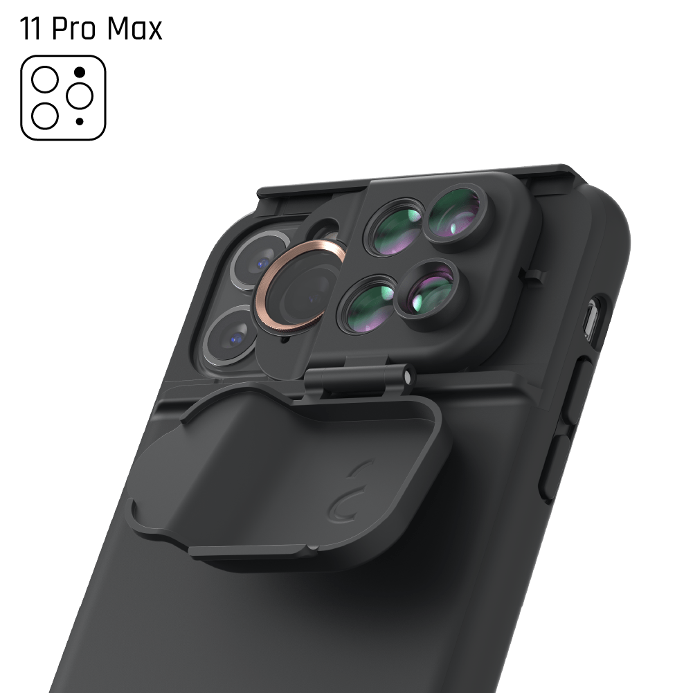 5-in-1 MultiLens Case for iPhone 11 Pro Max - ShiftCam Global Official