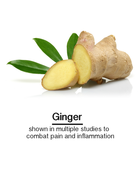 ginger anti inflammatory pain relief