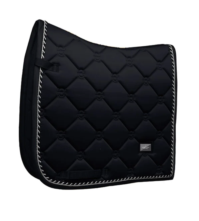 Equestrian Stockholm Dressage Pad Black Edition