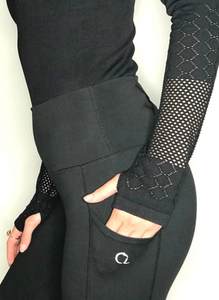 Sophia Riding Leggings in Black