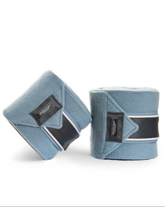 Equestrian Stockholm Fleece bandages Steel Blue