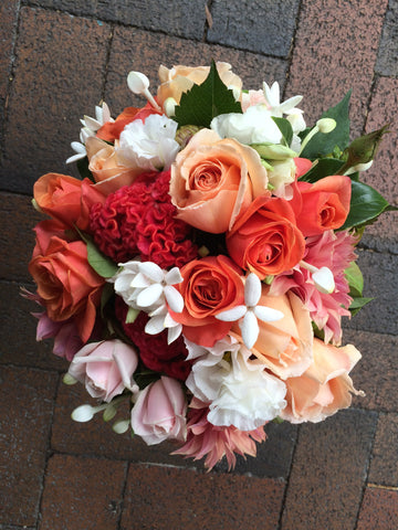 Citrus toned Pretty Posy