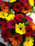 Flower Bouquet Mixed Gerbera Bouquet