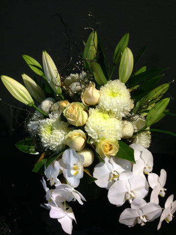 Flower Arrangement Classic White Flower Arrangement