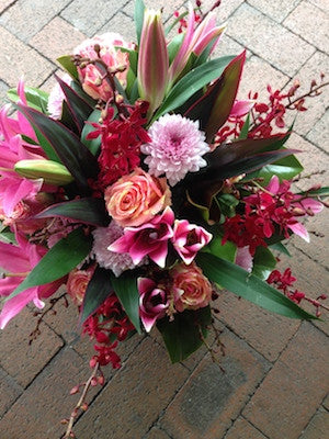 Basket arrangement- Seasonal and long lasting