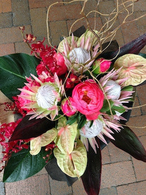 Tropical and Native Bouquet