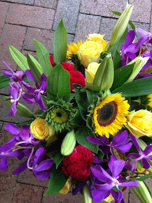 Vibrant Flower Arrangement