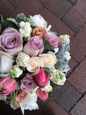 Soft and Textured Flower Posy Box