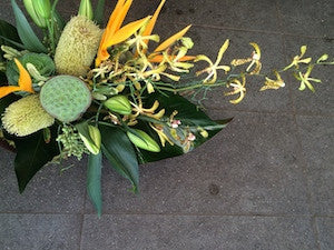 Native and Tropical Arrangement- Citrenello