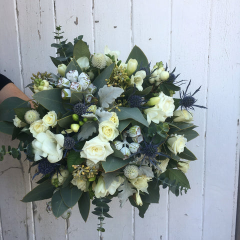 Native and Vintage themed posy