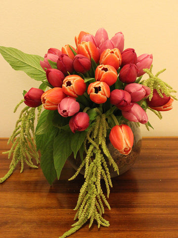 Flower Arrangement Tulip Arrangement