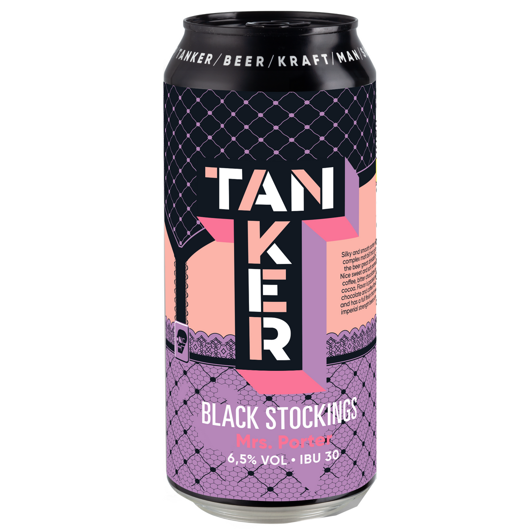 Tanker Black Stockings