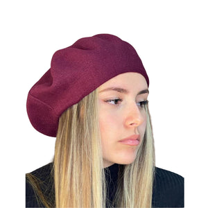 Geneve Cappello Basco Bordeaux