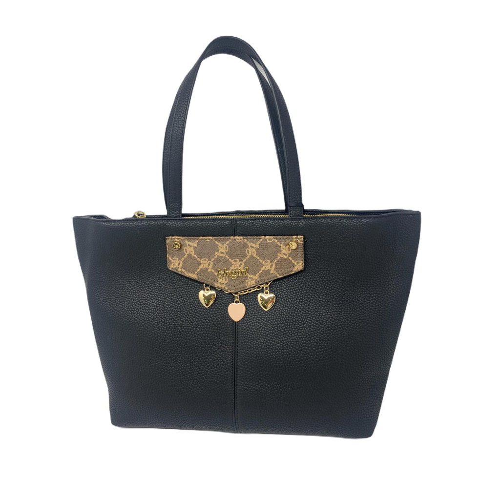 Blugirl Borsa  Shopper Bag Nero Cuori