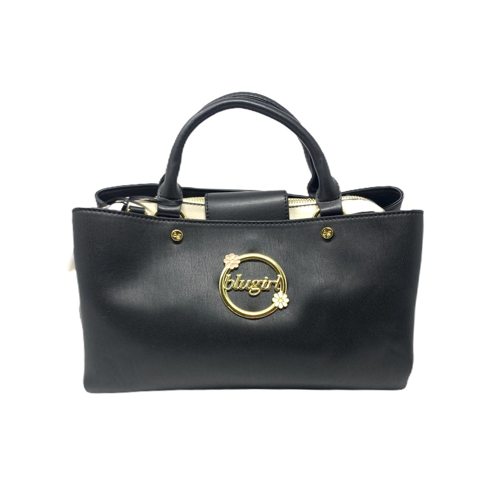 Borsa BluGirl Black Mini Shopper Bag