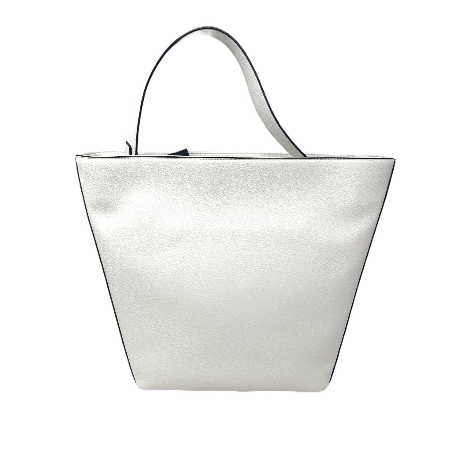Borsa Calvin Klein Bag Shopper Shop Bianca
