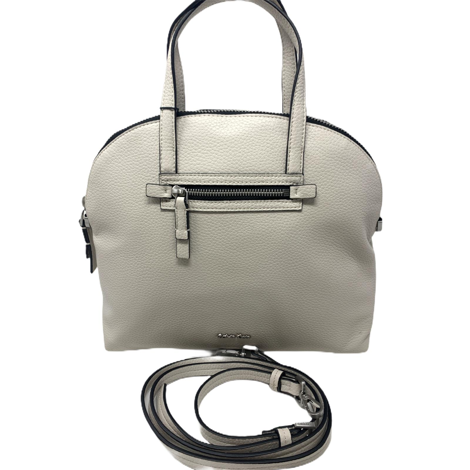 Borsa Calvin Klein Panna Dome Medium Satchel
