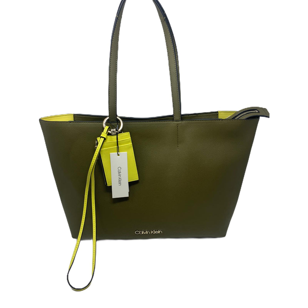 Borsa Calvin Klein Shopper Bag Green Military