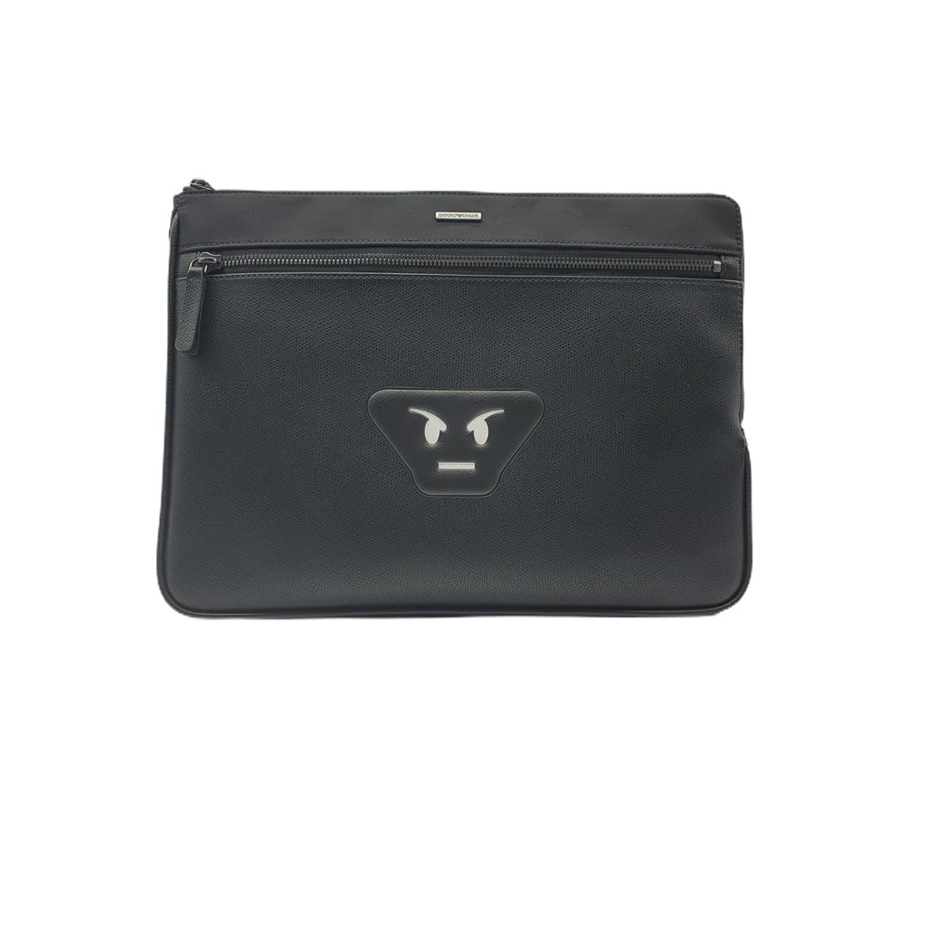 Borsa Emporio Armani Uomo Nylon Black Smile Laptop