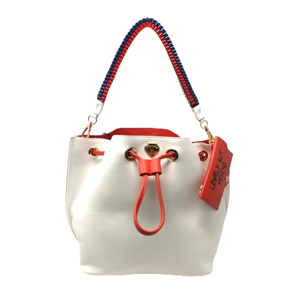 Borsa Lovely But Psycho Le Pandorine White