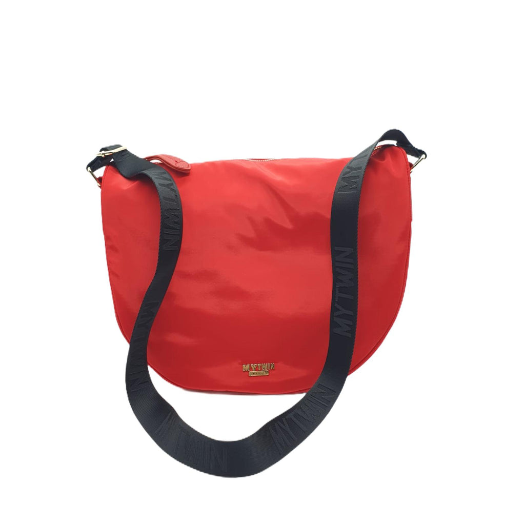 Borsa My Twin Twinset Donna Hobo Grande Rosso