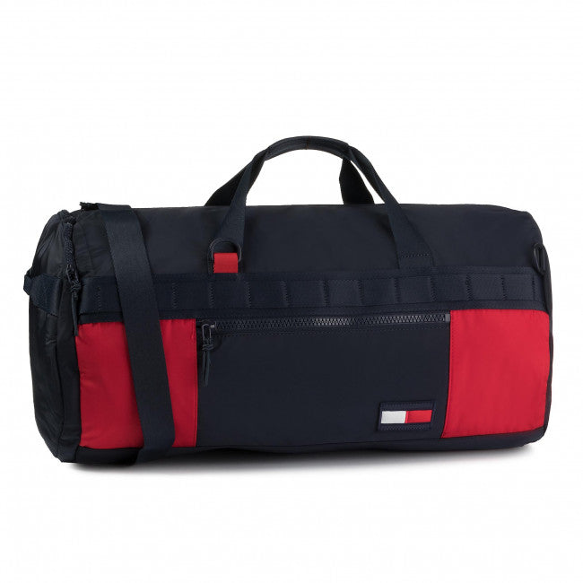 Borsa Tommy Hilfiger Canvas Duffle Corporate