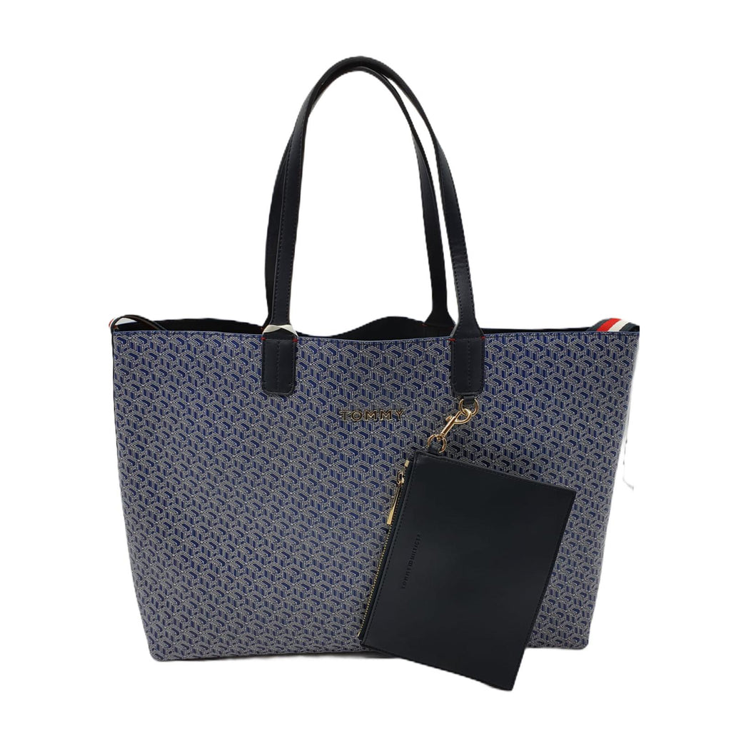 Borsa Tommy Hilfiger Monogram Tote Shopper Bag