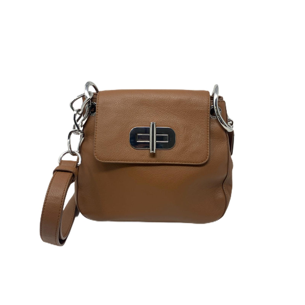 Borsa Tommy Hilfiger Softlock Sarchel Marrone Mini Bag