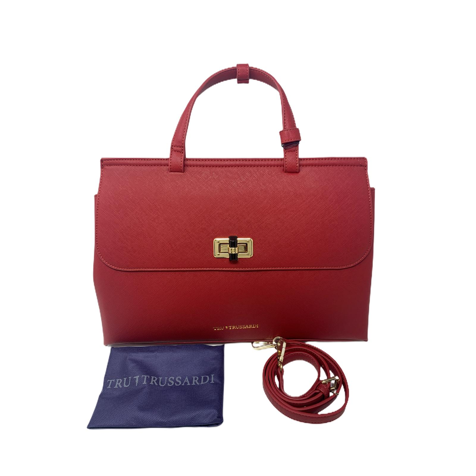 Borsa Tru Trussardi Shopper Bag Donna Bordeaux