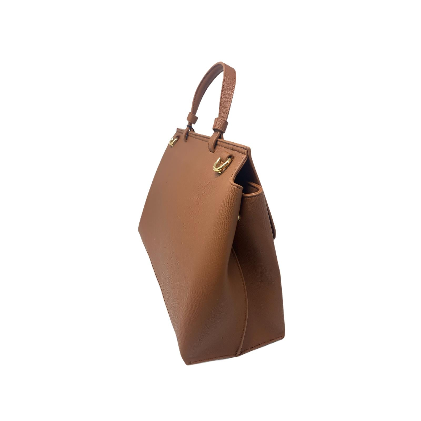 Borsa Tru Trussardi Shopper Bag Donna Marrone Chiaro
