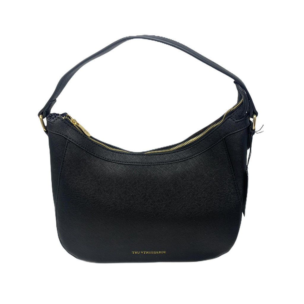 Borsa Tru Trussardi Shopper Bag Runner Black Nero