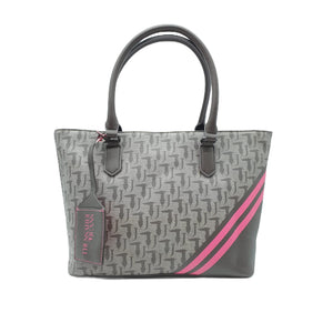 Borsa Trussardi Jeans Vaniglia Ecolather Medium Rosa Marrone