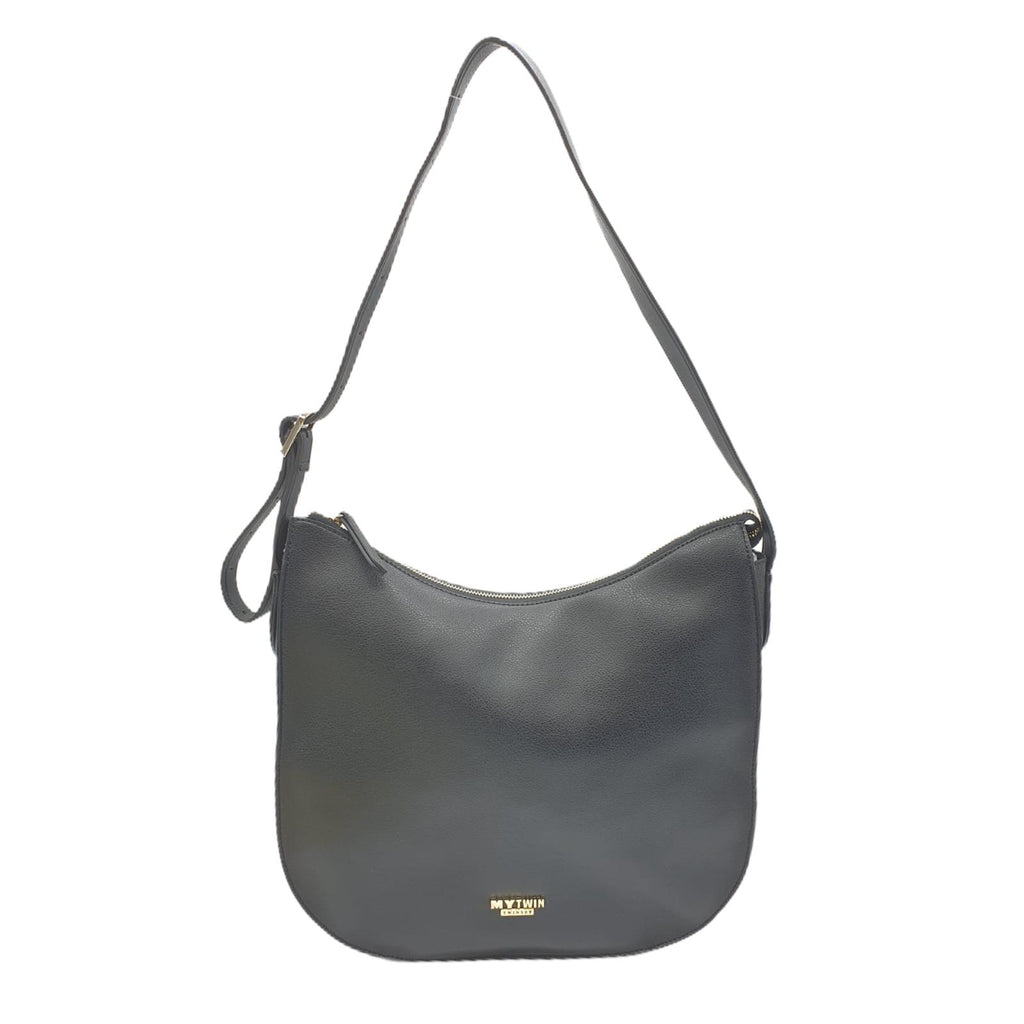 Borsa Twinset Hobo Nera Shopper Bag Curvi