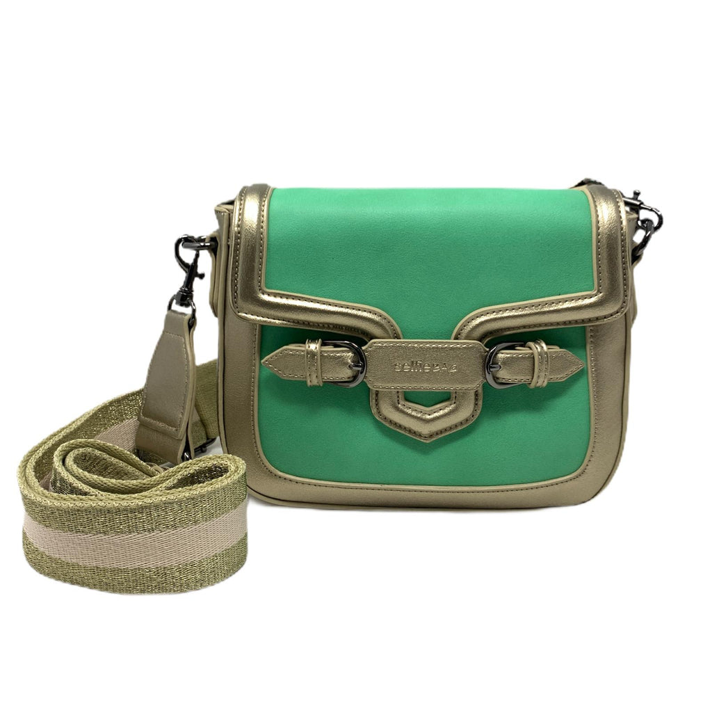 Borsetta Selfie Bag People Mini Bronze Green