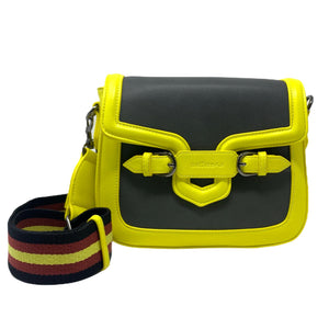 Borsetta Selfie Bag People Mini Yellow Dark