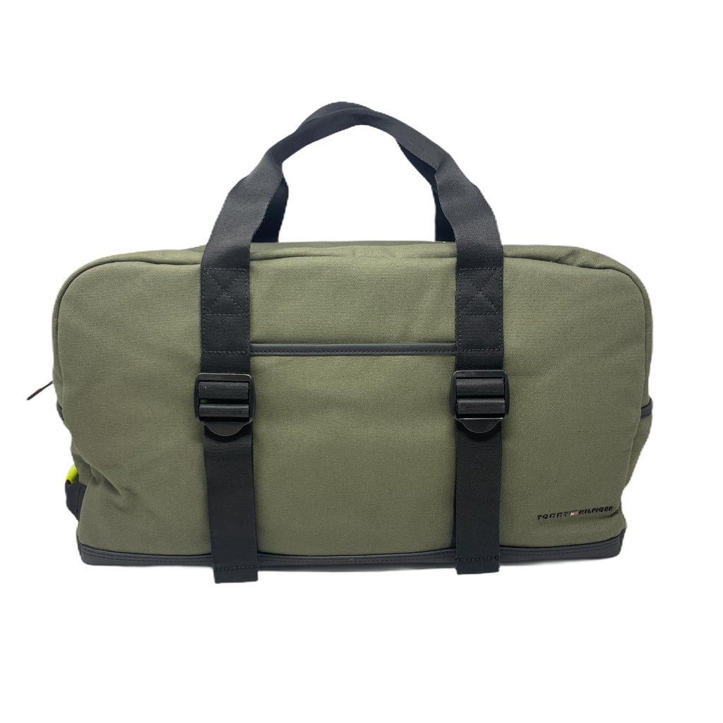 Borsone Tommy Hilfiger Feded Olive Canvas