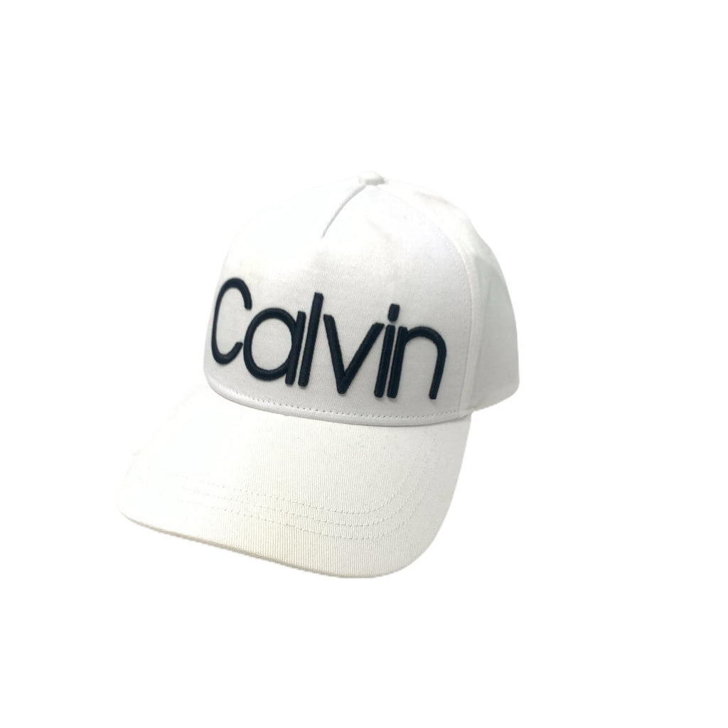 Cappello Calvin Klein Total White
