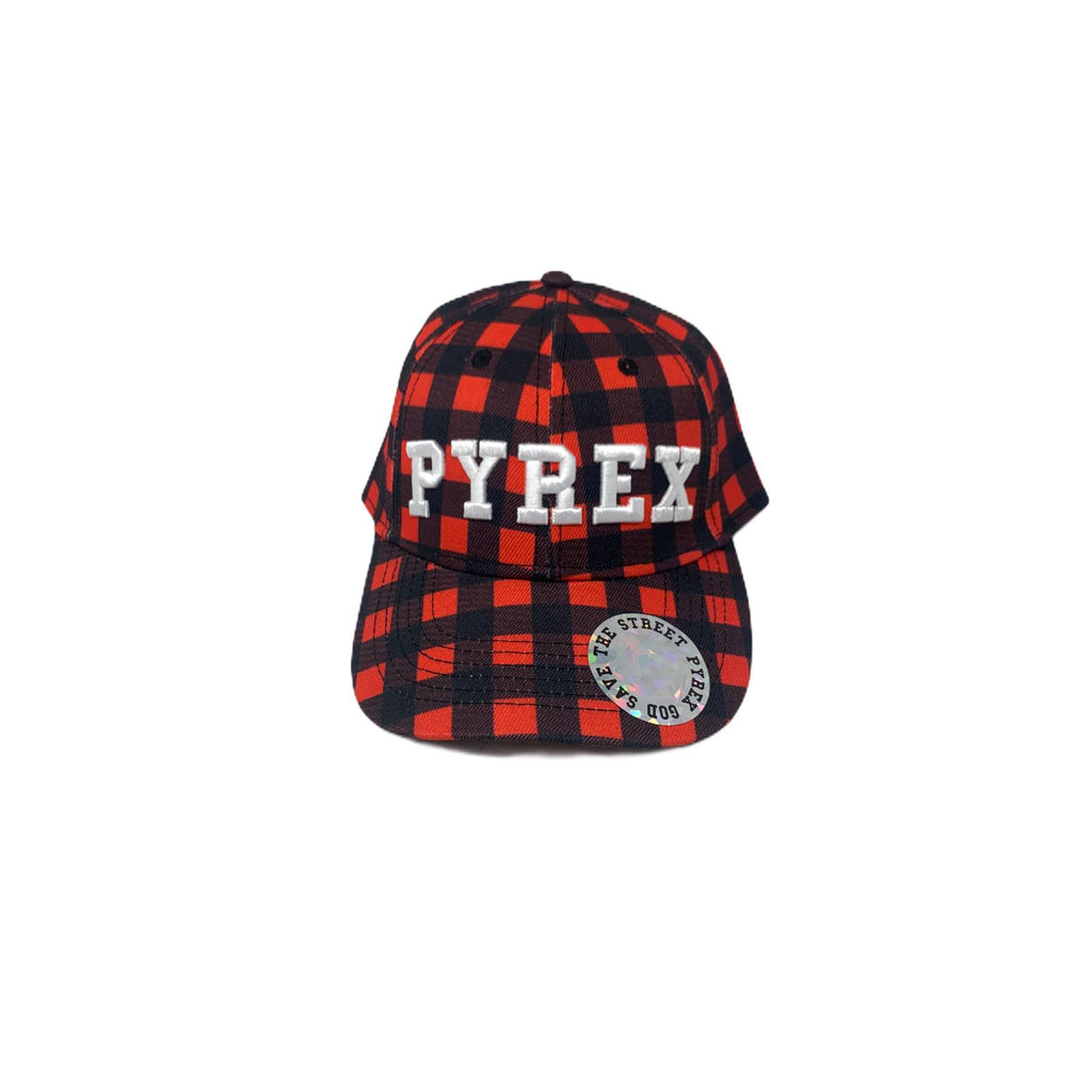 Cappello PYREX Snapback Save The Street Red Black