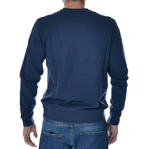 Felpa EA7 Emporio Armani Sweat Shirt Blu Sports