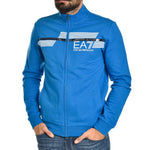 Felpa EA7 Emporio Armani Sweat Shirt Skydner Blue Sports