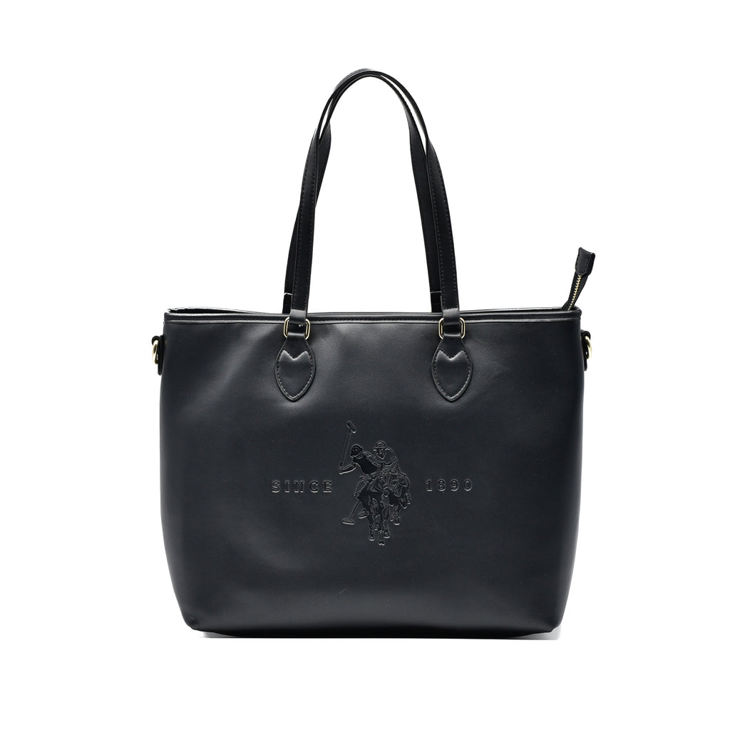 Borsa Shopping Bag U.S. Polo Assn Eco Pelle Nera