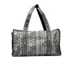 Gattinoni Roma Borsa Beatrice Bownling Messanger Black White