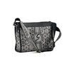 Gattinoni Roma Borsa Beatrice Messanger Black White
