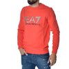 Felpa EA7 Emporio Armani Sweat Shirt Red Sports Armani