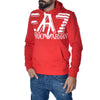 Felpa EA7 Emporio Armani Sweat Shirt Red Sports