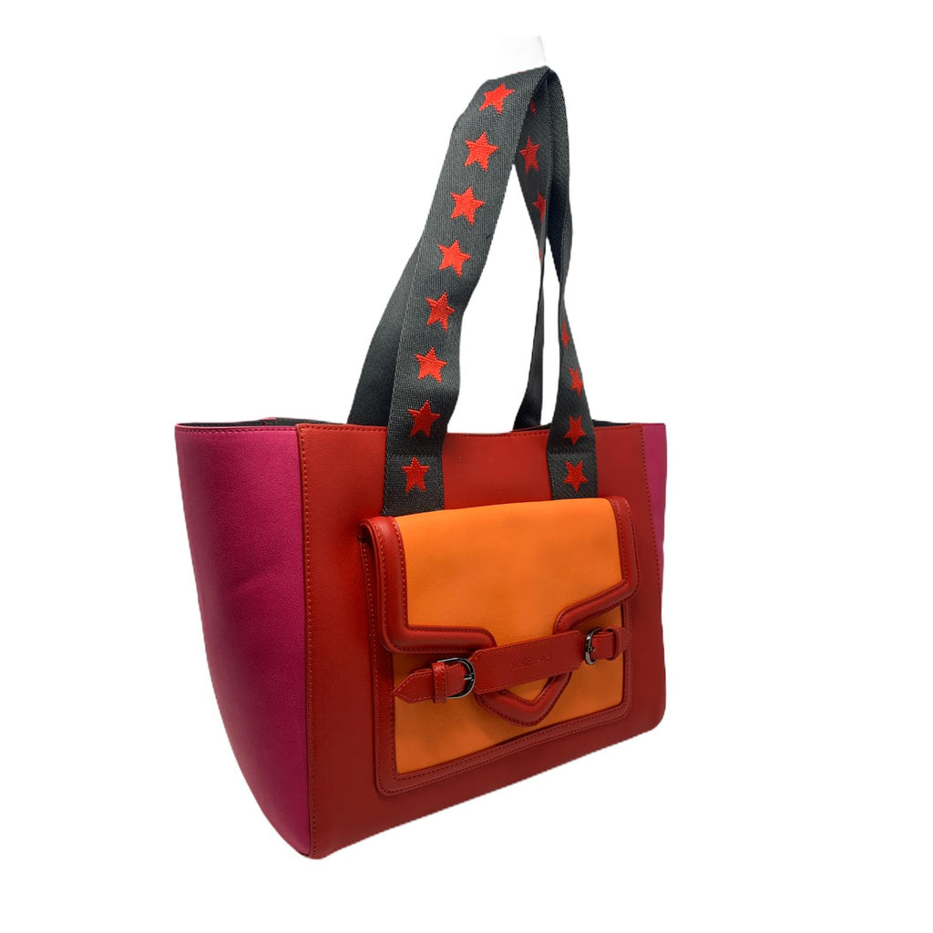 SELFIE BAG STAR RED